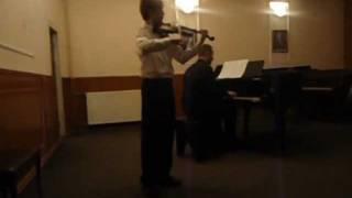 Rieding Violin Concerto in B Minor 3rd Movement - Bardh Lepaja