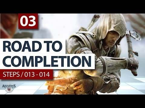 (SOG) Assassins Creed 3 / Ep.03: Steps 013-014 / Boston Underground (ROAD TO COMPLETION)