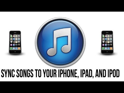 Itunes 11 Tutorial - How To Sync Songs To Your iPhone. iPad or iPod