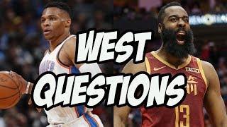 5 Big Questions Heading Into The NBA Western Conference Playoffs