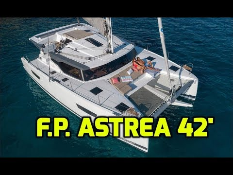 Fountaine Pajot Astrea 42.  Perfect size Catamaran for a full-time live-aboard couple? Our Review.