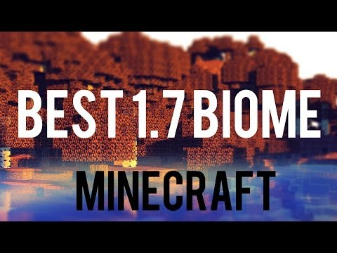 Best Minecraft Seed - All 1.7.2 Biomes Together - Ice Plains Spikes, Mesa, Savan