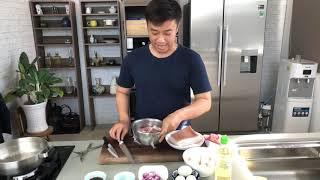 Thịt kho tàu (ăn trong 10 ngày hoặc cấp đông để ăn bất cứ lúc nào cần)