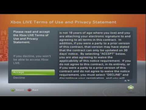 How to Join XBOX Live [XBOX 360 V1]
