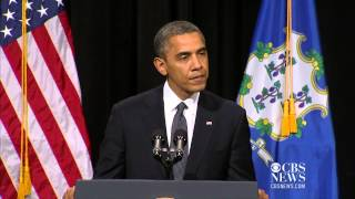 Obama at Newtown vigil: 'God has called them all home' (entire speech)