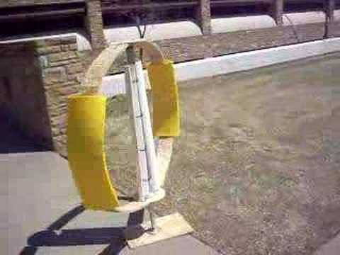 Darrieus Wind Turbine Prototype
