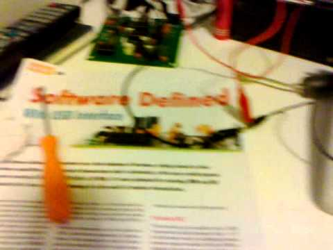 Elektor SDR + Dream 1.4 - 26 october 2011 - 20,15 UTC