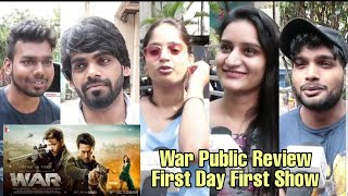 War Movie Public Review |  First Day First Show Review | Hrithik Roshan, Tiger Shroff