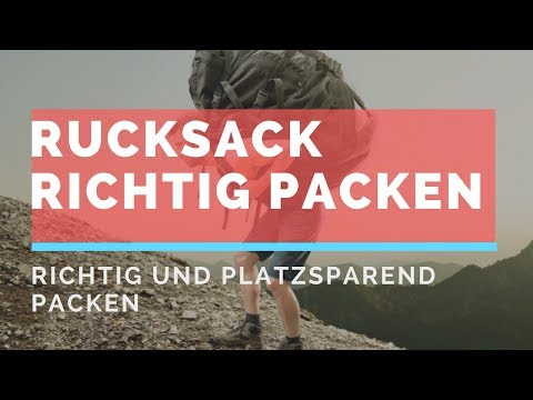Australien Work and Travel Backpack packen - 92% machen diesen Fehler beim Packen