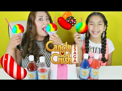 CANDY CRUSH Snow Cones - Shave Ice DIY |B2cutecupcakes