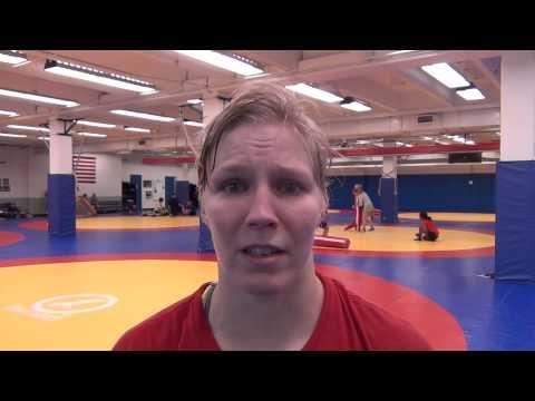 Alyssa Lampe at Women's World Team Camp at OTC