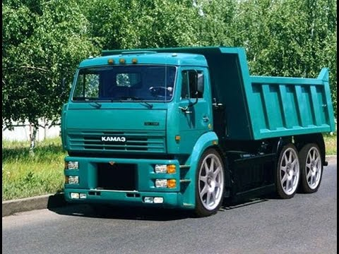 #1212. KAMAZ Tuning [RUSSIAN CARS]