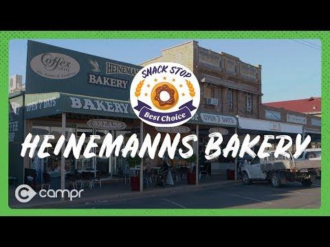 Snack Stop:  Heinemanns Bakery Charleville