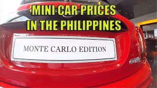Mini Car Prices In The Philippines (Featuring, Mini Monte Carlo Limited Edition)