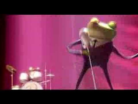 Frogs music video- 'Bailar con los Robinsons' (muy chistoso)