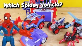 Spiderman toys which spider man vehicle imaginext playskool sources