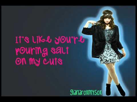 Demi Lovato- Fix a Heart (Official Song Lyrics HD)