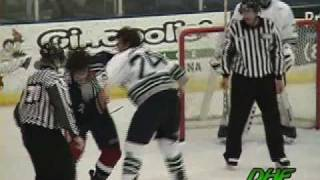 Gino Pisellini Vs. Steve Downie 2/12/05
