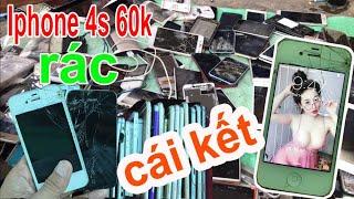 Cầm 60k mua iphone rác | thử hồi sinh thì nhận cái kết bất ngờ