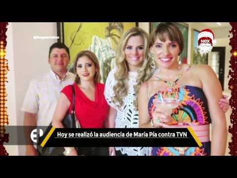 #PurgatorioNex:  Hoy se realizó la audiencia de María Pía contra TVN
