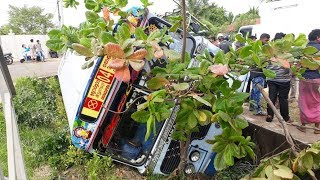 Dangerous Bus Accident Caught on CCTV - Bus Accident