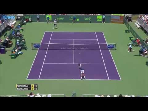 Fantastic sportsmanship from Stan Wawrinka at the Miami Open