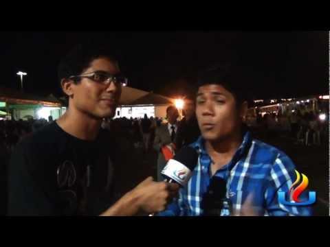 UMADEB 2012 - Dia 20-02 - Harry Winner com Jovens da UMADEB