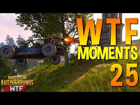 Playerunknown's Battlegrounds Funny WTF Moments Highlights Ep 25 (PUBG Plays)