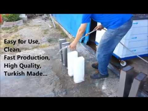 Ice Block Maker 1 Ton/day