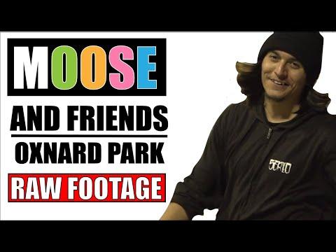 Moose & friends skate Ox Park (RAW FOOTAGE)