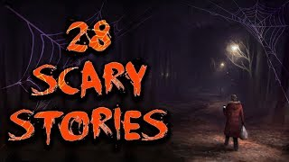 28 SCARY STORIES | COMPILATION, 50,000 SUBSCRIBER SPECIAL, HALLOWEEN