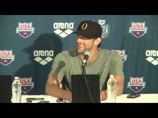 Swimmer Michael Phelps Back in Competition