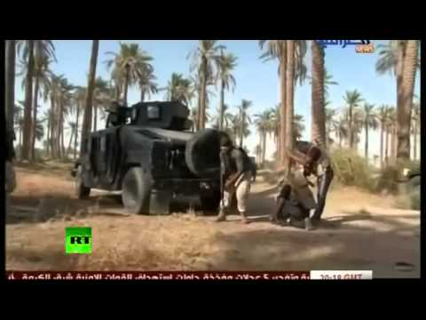 ISIS v Iraqi Army  Baghdad releases fierce fighting footage