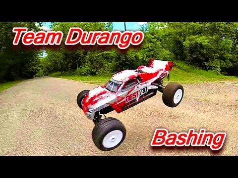 DEST210 BASHING - The Votes Are In - Team Durango DEST 210 Electric Stadium Truck Race Ready RTR
