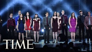 Students From Marjory Stoneman Douglas High School Give Emotional Performance At Tony Awards | TIME