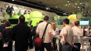 Google: o estande mais legal [MWC 2012] - Tecmundo