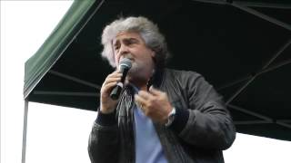 Beppe Grillo, Alberto Perino e Don Gallo