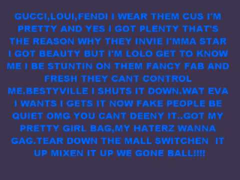 Omg Girlz Ft.ariel Pretty Girl Bag Lyrics video