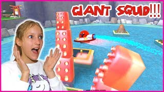 GIANT SQUID TAKING OVER THE ISLAND!!!