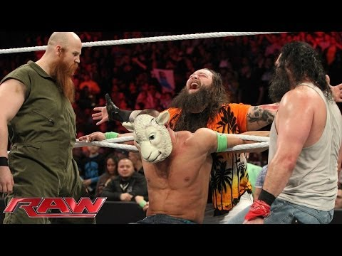 John Cena Vs. Luke Harper: Raw, March 24, 2014 video