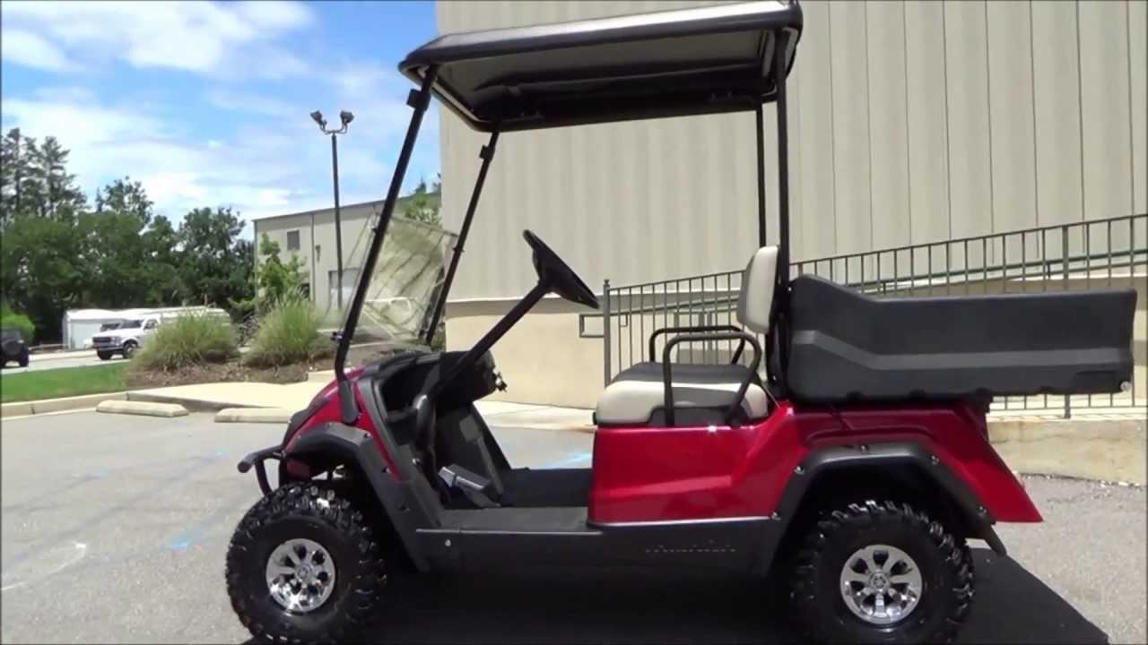 2013 Yamaha Adventurer Sport Gas Golf Cars For Sale
