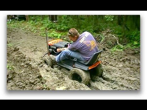 Off Road Lawn Mower Jamboree Pt.3 Deep Mud Run