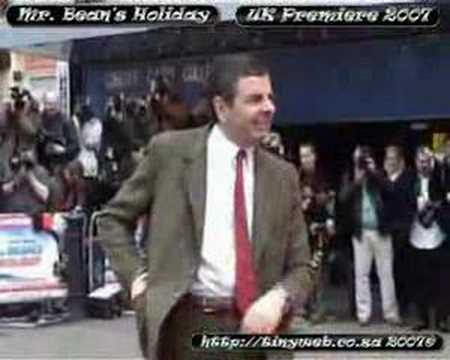 Mr Bean's Holiday UK Premiere