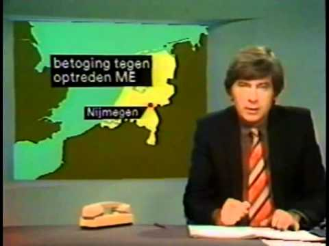 Ontruiming Piersonstraat Nijmegen 23 Februari 1981