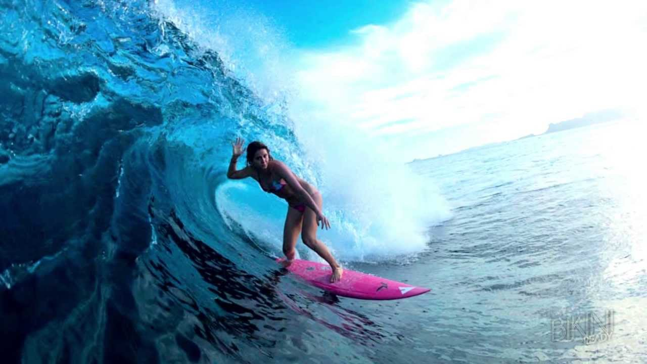 Anastasia Ashleys New Hawaii Surfing Video Turns Heads