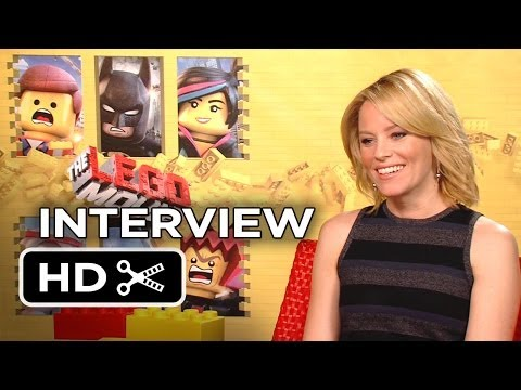 The Lego Movie Interview - Elizabeth Banks (2014) - Animated Movie HD