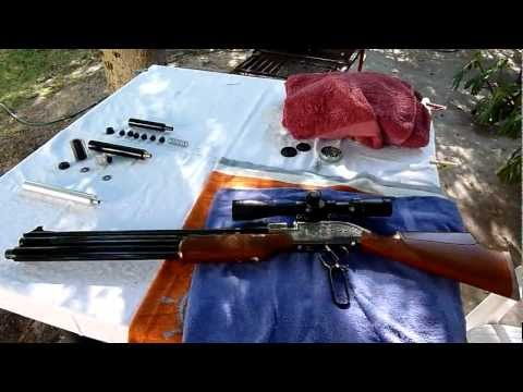 Sumatra Air Rifle.Taming its loud Bark with a simple device. Part One.