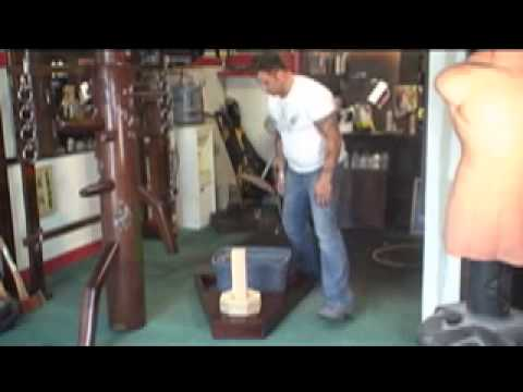 Preview - Warrior Mart Art Supply - Modern Wooden Dummy Free Stand