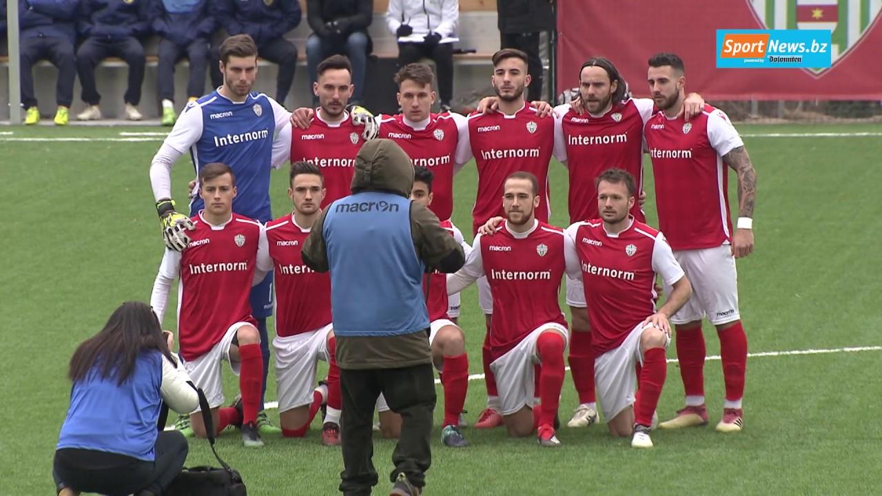Serie D: Virtus Bozen - AC Trient 5:0