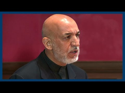 Hamid Karzai | The State of Afghanistan | Oxford Union
